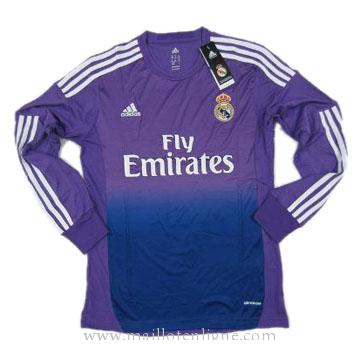 Maillot Real Madrid Manche Longue Goalkeeper 2013-2014