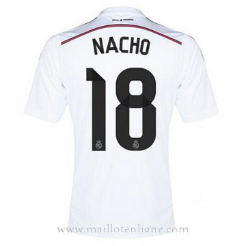 Maillot Real Madrid NACHO Domicile 2014 2015