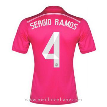 Maillot Real Madrid SERGIO RAMOS Exterieur 2014 2015