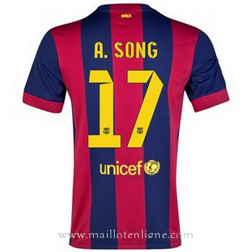 Maillot Barcelone A.Song Domicile 2014 2015