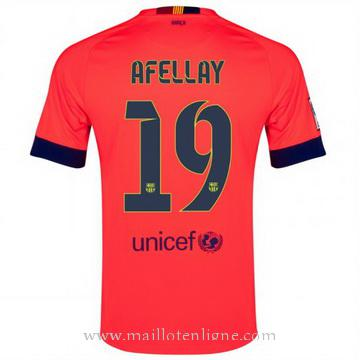 Maillot Barcelone Afellay Exterieur 2014 2015
