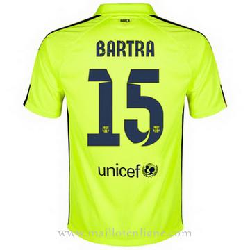 Maillot Barcelone BARTRA Troisieme 2014 2015