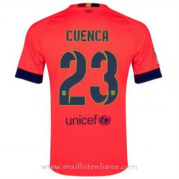 Maillot Barcelone Cuenca Exterieur 2014 2015
