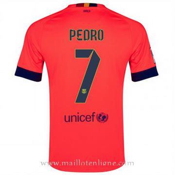 Maillot Barcelone Pedro Exterieur 2014 2015