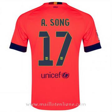 Maillot Barcelone Song Exterieur 2014 2015