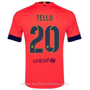 Maillot Barcelone Tello Exterieur 2014 2015