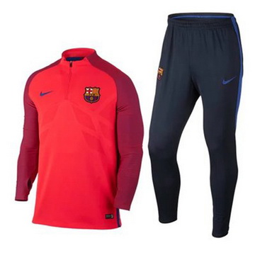 Maillot Formation ML Barcelone Rouge 2016 2017 [FRM3554] - €36.5