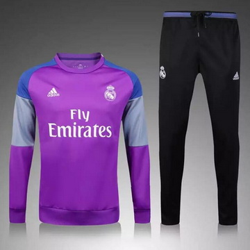 Maillot Formation ML Real Madrid Pourpre 2017