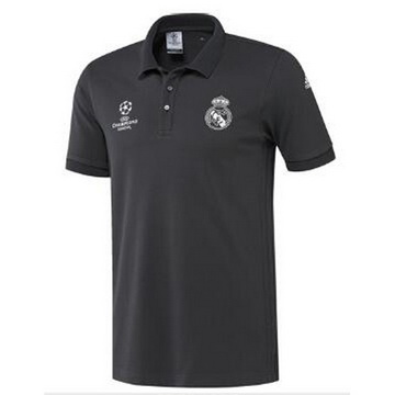 Maillot de Polo Real Madrid Noir UCL 2016 2017