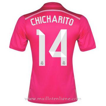 Maillot Real Madrid CHICHARITO Exterieur 2014 2015