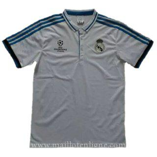 Maillot Real Madrid Champion polo Blanc 2016