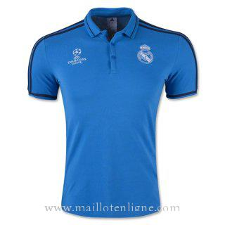 Maillot Real Madrid Champion polo Bleu 2016