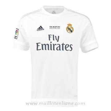 Maillot Real Madrid Domicile Champion 2016