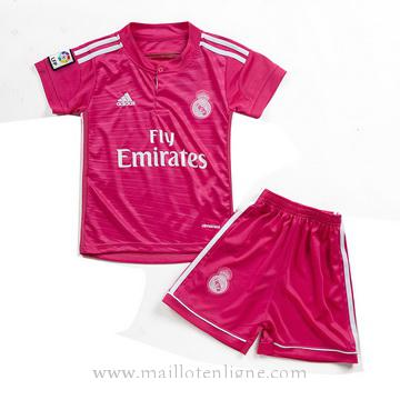 Maillot Real Madrid Enfant Exterieur 2014 2015