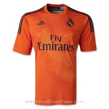 Maillot Real Madrid Goalkeeper orange 2014 2015