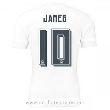 Maillot Real Madrid JAMES Domicile 2015 2016