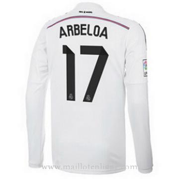Maillot Real Madrid ML ARBELOA Domicile 2014 2015