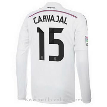 Maillot Real Madrid ML CARVAJAL Domicile 2014 2015