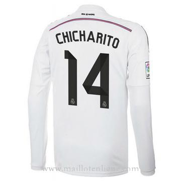 Maillot Real Madrid ML CHICHARITO Domicile 2014 2015