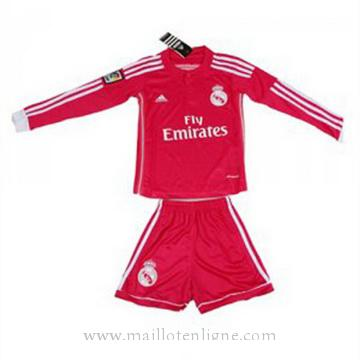 Maillot Real Madrid ML Enfant Exterieur 2014 2015