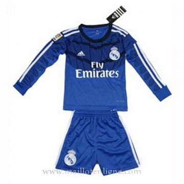 Maillot Real Madrid ML Enfant Goalkeeper 2014 2015