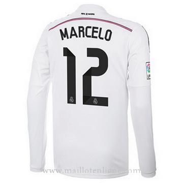 Maillot Real Madrid ML MARCELO Domicile 2014 2015