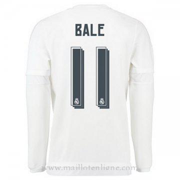 Maillot Real Madrid Manche Longue BALE Domicile 2015 2016