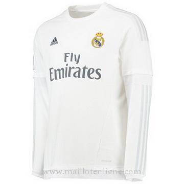 Maillot Real Madrid Manche Longue Domicile 2015 2016