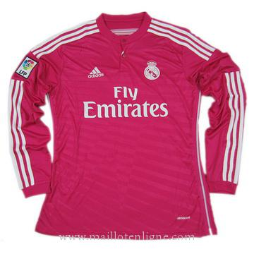 Maillot Real Madrid Manche Longue Exterieur 2014 2015