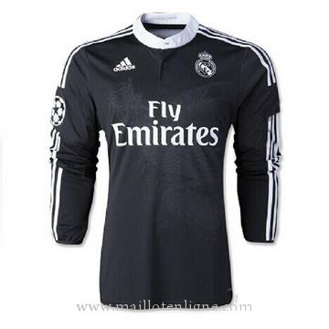 Maillot Real Madrid Manche Longue Troisieme 2014 2015
