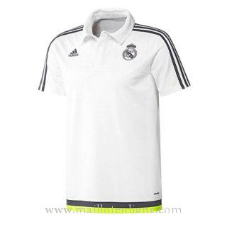 Maillot Real Madrid polo Blanc 2016 2017