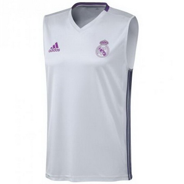 Maillot Sanst Manchest Real Madrid Blanc 2016 2017