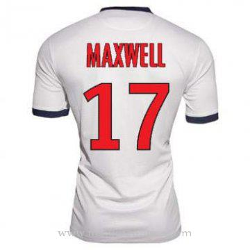 Maillot PSG Maxwell Exterieur 2013-2014