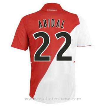Maillot AS Monaco ABIDAL Domicile 2014 2015