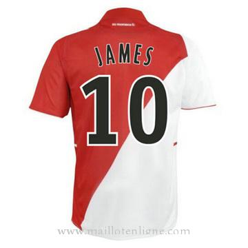Maillot AS Monaco JAMES Domicile 2014 2015
