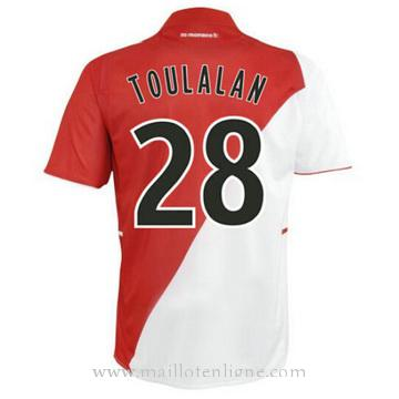 Maillot AS Monaco TOULAAN Domicile 2014 2015