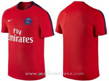 Maillot Formation PSG Rouge 2016