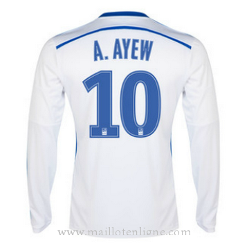 Maillot Marseille ML A.AYEW Domicile 2014 2015