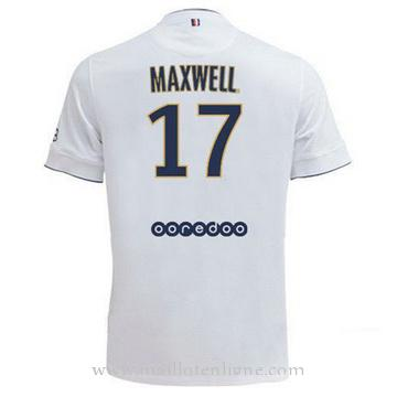 Maillot PSG MAXWELL Exterieur 2014 2015