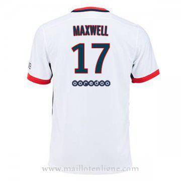 Maillot PSG MAXWELL Exterieur 2015 2016