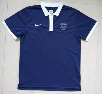 Maillot PSG Polo Deep Blue 2016 2017