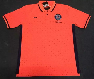 Maillot PSG Polo Orange 2016 2017