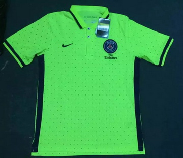 Maillot PSG Polo Vert 2016 2017