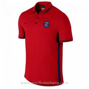 Maillot PSG polo Rouge 2016 2017
