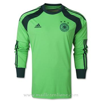 Maillot Allemagne Manche Longue Goalkeeper 2014 2015