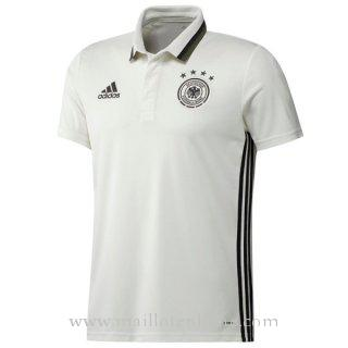 Maillot Allemagne polo blanco 2016 2017