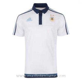 Maillot Argentine polo Blanc 2016 2017