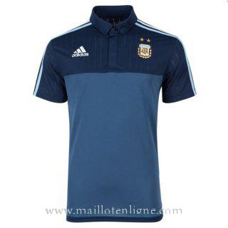 Maillot Argentine polo Bleu 2016 2017