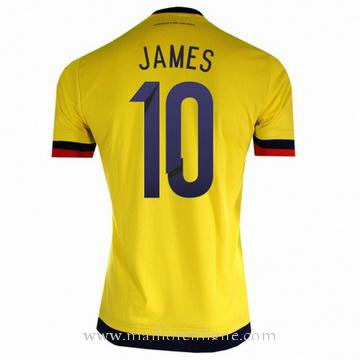 Maillot Colombie JAMES Domicile 2015 2016