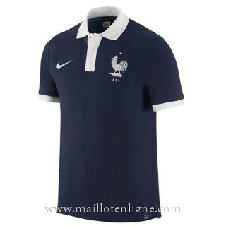 Maillot France polo Bleu 2016
